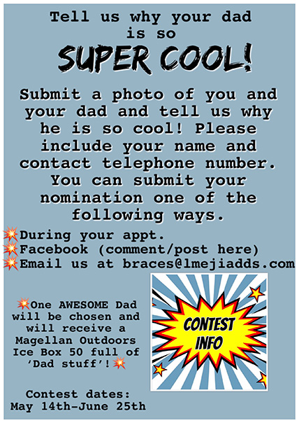 Father's Day Contest Rules